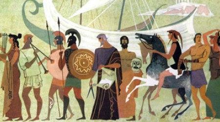 Древнегреческая доска объявлений.